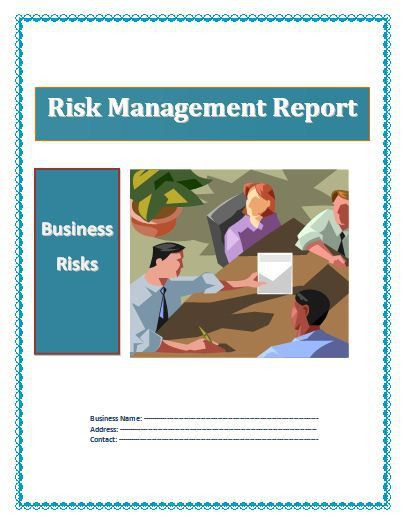 Risk Management Report Template | Download It Free