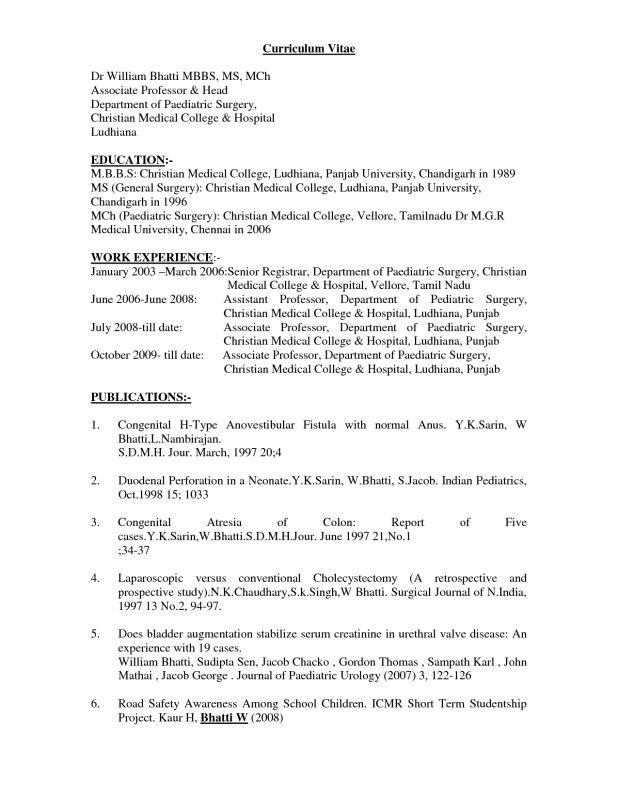 Download Doctor Resume Template | haadyaooverbayresort.com