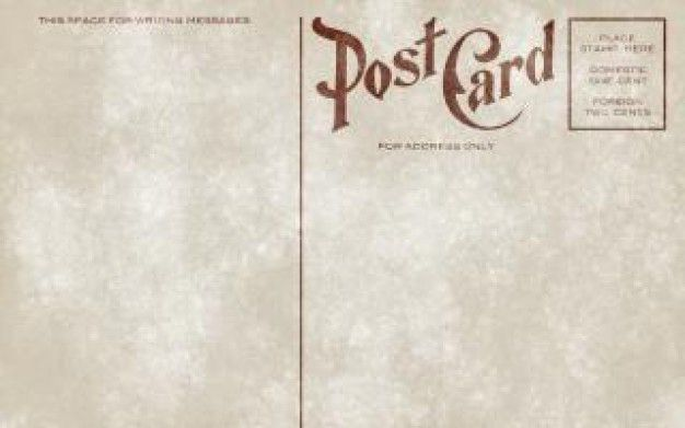 vintage postcard template download - Google Search | design ...