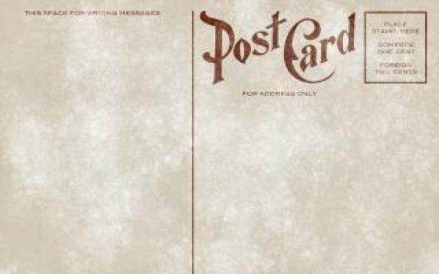 vintage postcard template download - Google Search | design ...