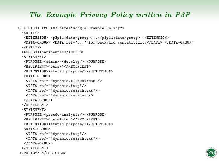 Integrating Privacy Policies into Business Processes