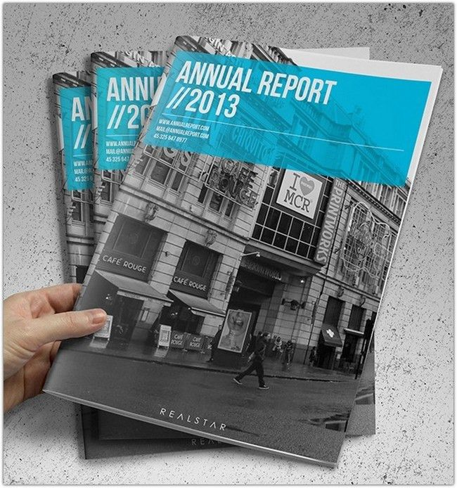 32+ Best Annual Report Brochure Designs - Web Creative All