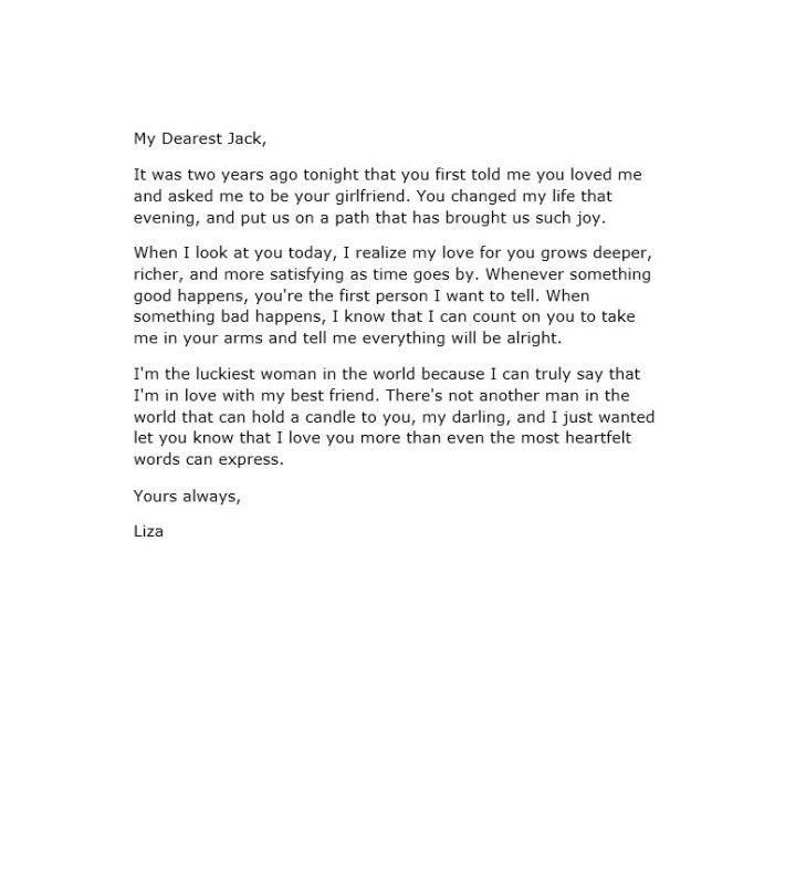 Good Love Letter To My Girlfriend | Docoments Ojazlink