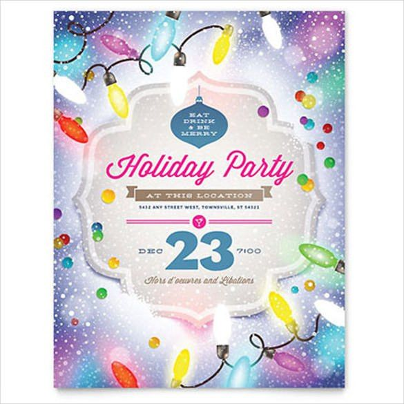 10+ Word Party Flyer Templates Free Download | Free & Premium ...