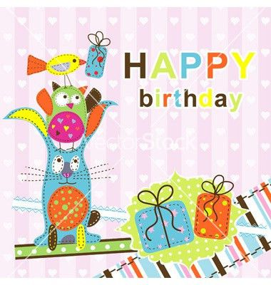 Card Invitation Design Ideas: Template Birthday Greeting Card ...