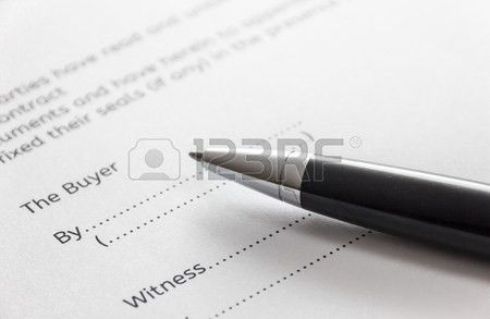 Free Contract For Deed. Interesting Image Titled Write A Contract ...