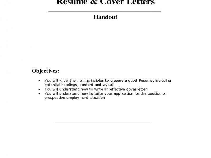 Terrific How To Make A Cover Page For Resume Dazzling - Resume CV ...
