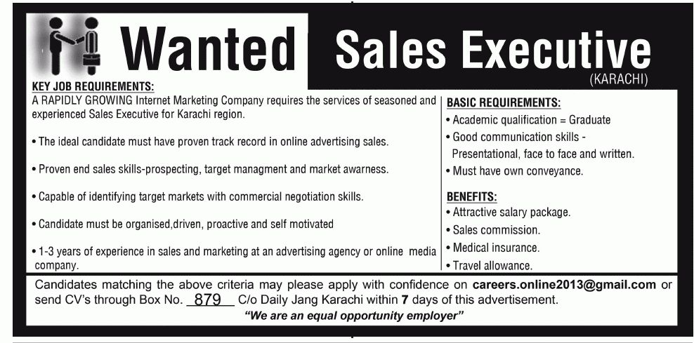 Marketing jobs | Todays job | News paper jobs | Sales jobs |