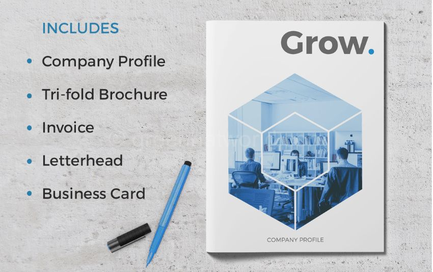 Download Company Profile Template Free