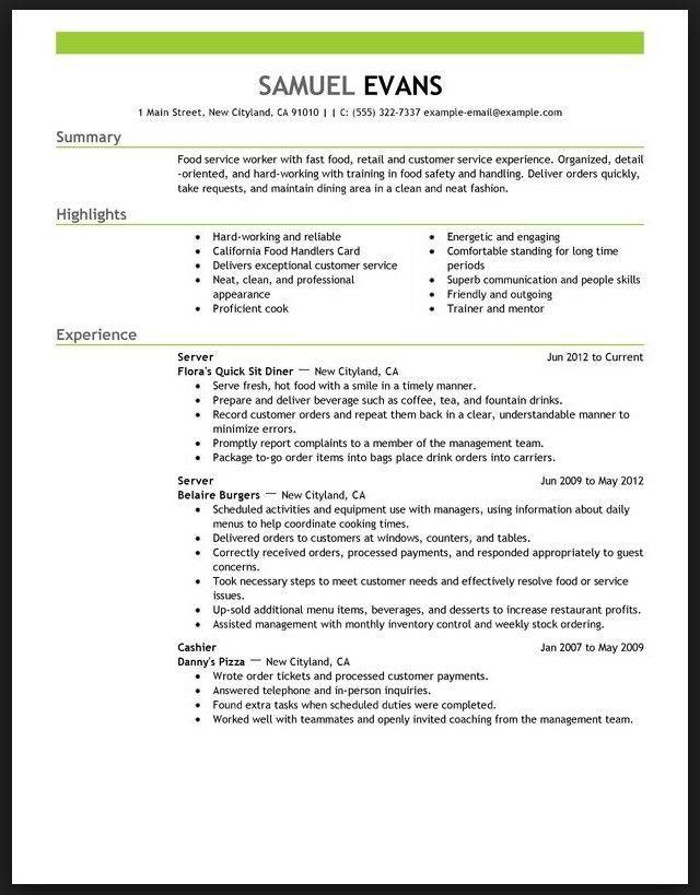 restaurant manager resume example uk resume example resume ...