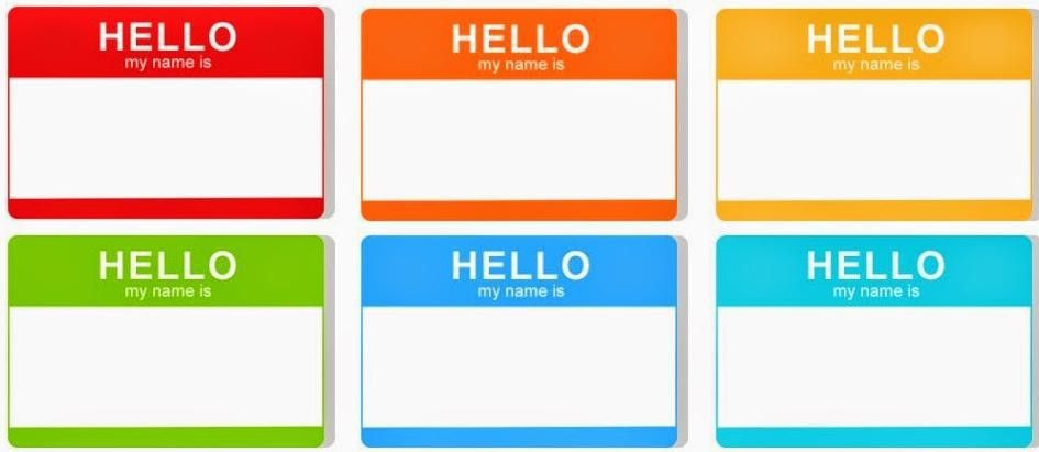 Hello my name is..... [conference name badge] | Yvonne Adele ...