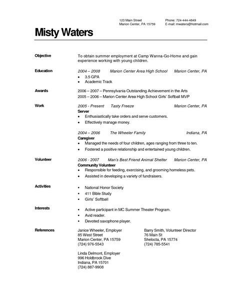 Piano Teacher Resume - Best Resume Collection