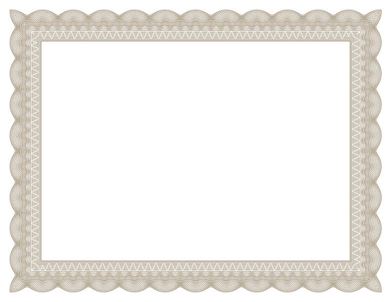Certificate border template free green certificate border free certificates templates borders frames and more yadclub Images