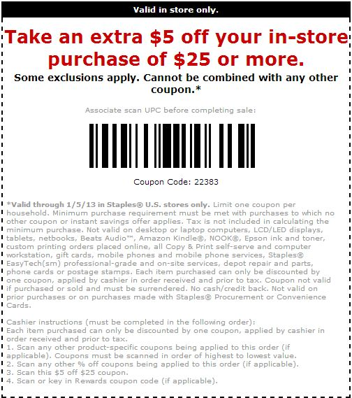 Staples Coupon Code 2016: Promo Codes, Free Shipping Coupons