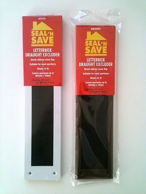 Seal N Save Letter Box Draught Excluder Brush Covers 267mm x 76mm ...