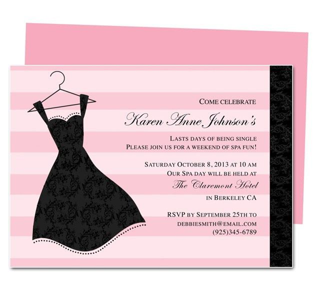 12 best Invitations images on Pinterest | Invitation templates ...