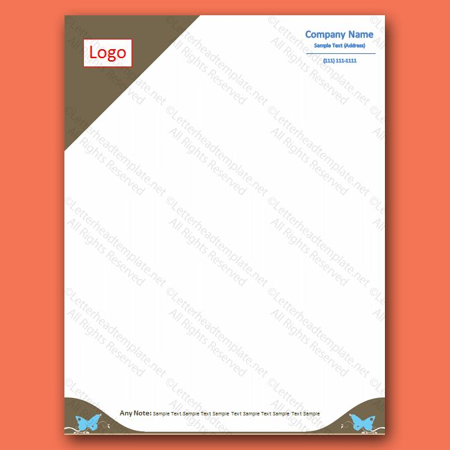 Free Letterheads Archives - Free Letterhead Templates