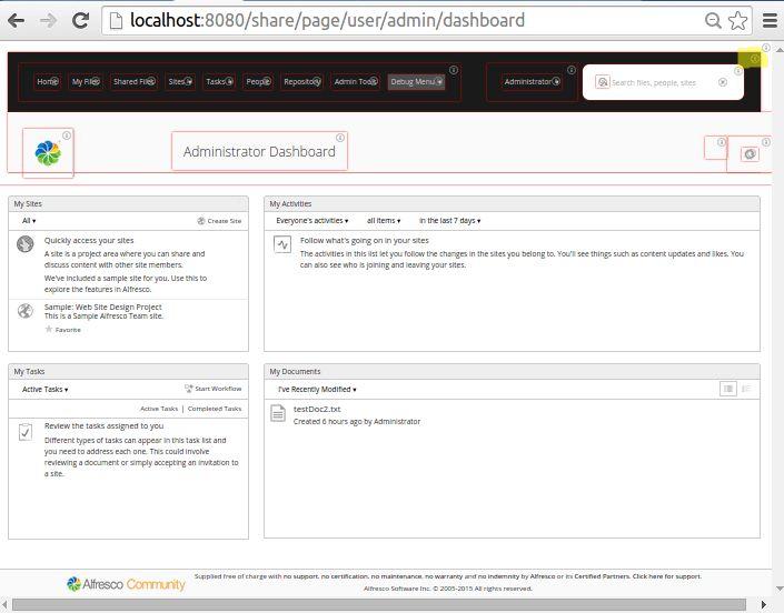 Customizing the Share Header Style (Aikau) | Alfresco Documentation