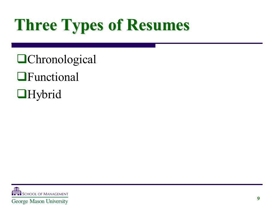 3 Main Resume Types. resume types resume templates. 3 main resume ...