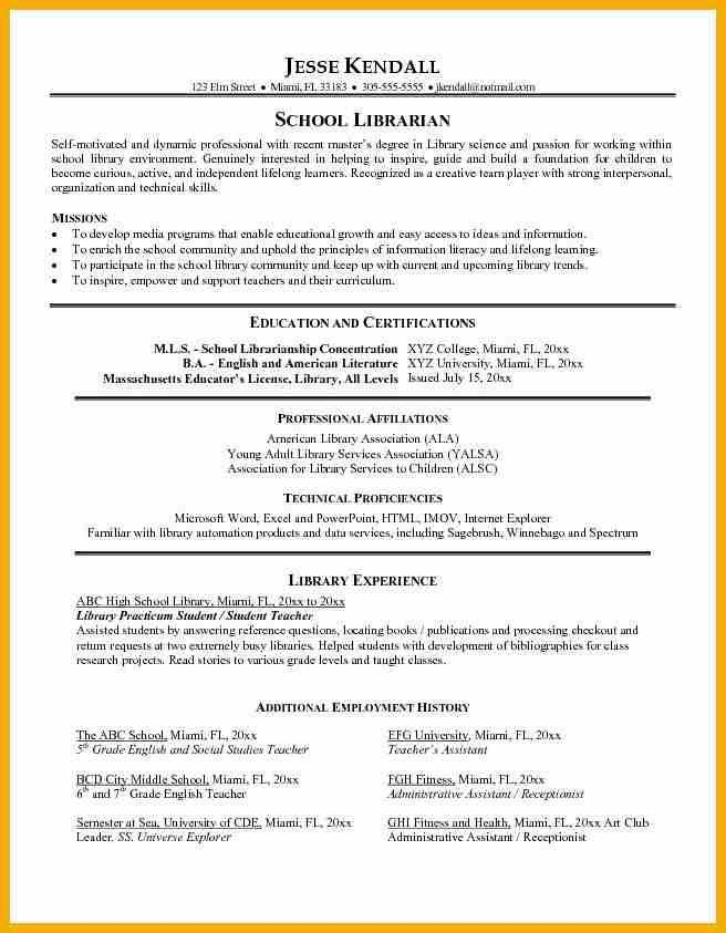 Library Resume Template. it cv template cv library technology job ...