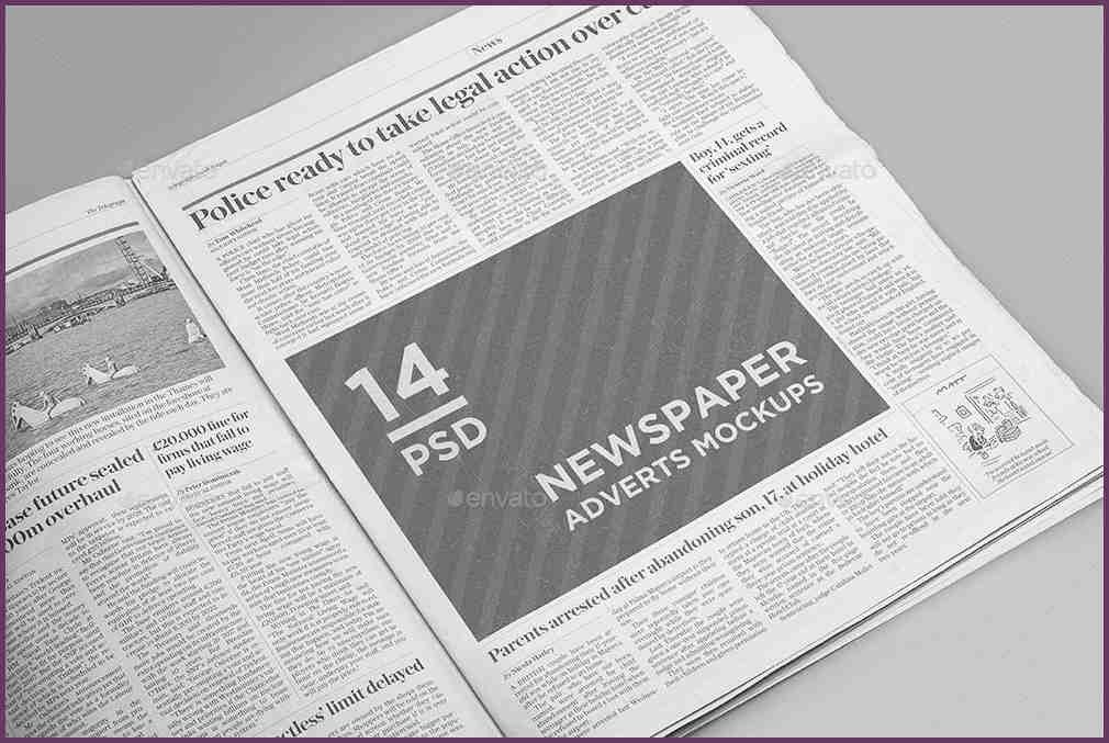 NEWSPAPER AD TEMPLATE | cvsampleform.com