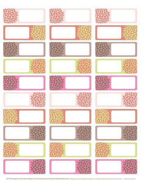 23 best Address labels: free address label templates images on ...