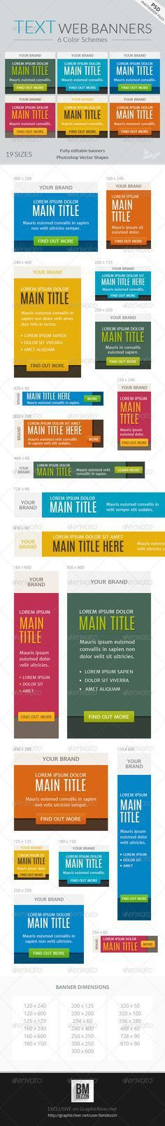 Web Banners for E-Book and Digital Products | Web banners, Banners ...