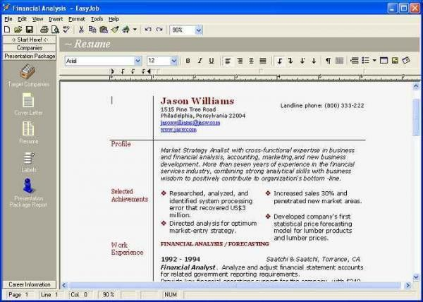 cv maker software free download