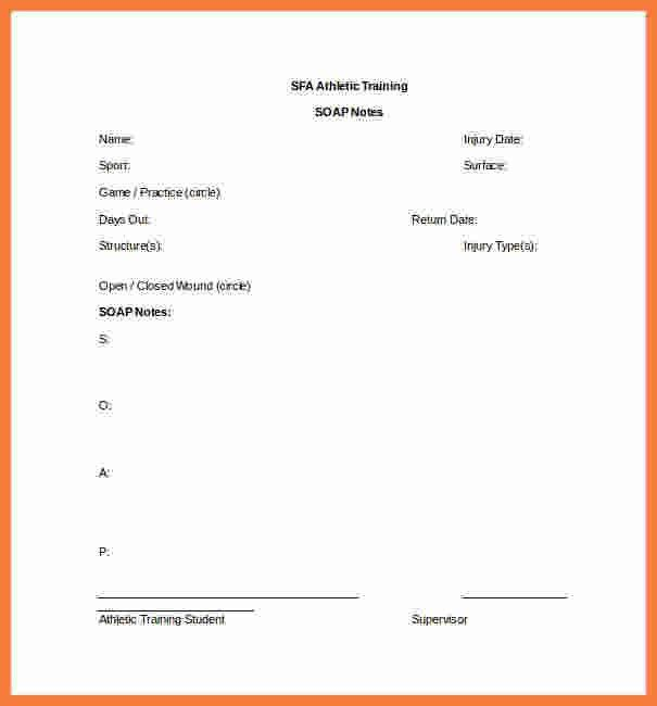 9+ soap notes template | Marital Settlements Information