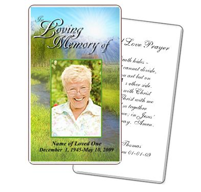 Funeral Template Superstore Company Offers New Line of Printable ...