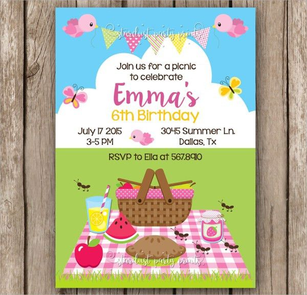 Sample Picnic Invitation Template - 9+ Free Documents in PDF, Word