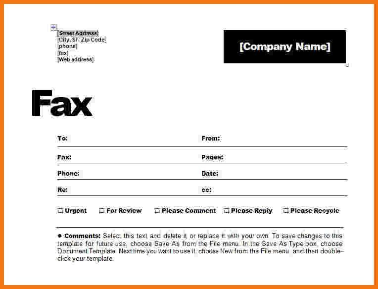 6+ how to make a fax cover sheet | Itinerary Template Sample