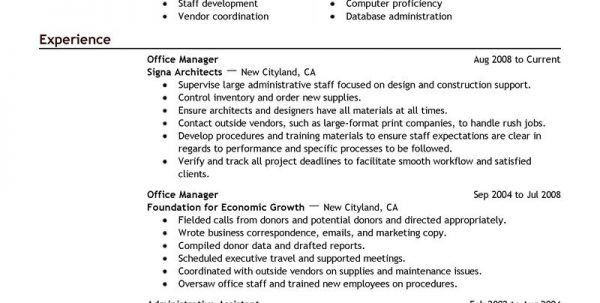 Medical Office Manager Resume Objective Medical Office Manager ...