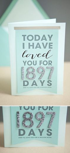 homemade anniversary cards for him - Google Search | Anniversary ...