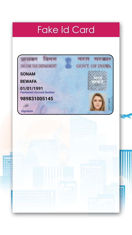 Fake ID Card Maker - Android Apps on Google Play