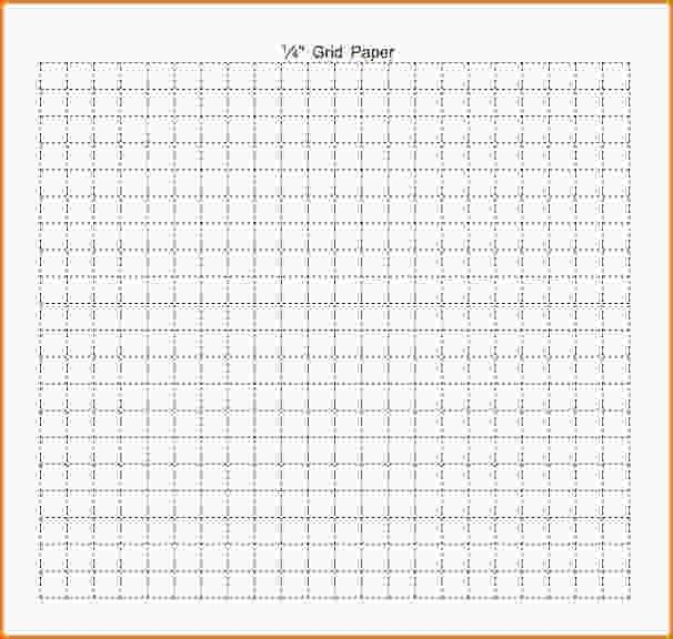 Grid Paper Template.graph Paper 1 Quarter Inch 001 Pin.jpg - Loan ...