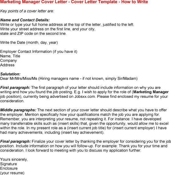 Wine Sales Manager Cover Letter