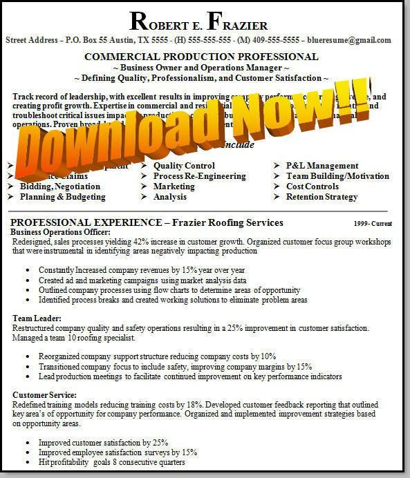 Free Download Sample Resume In Word Format. Resume Format 2016 ...