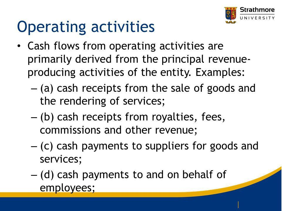 International Accounting Standard 7 Statement of Cash flows. - ppt ...