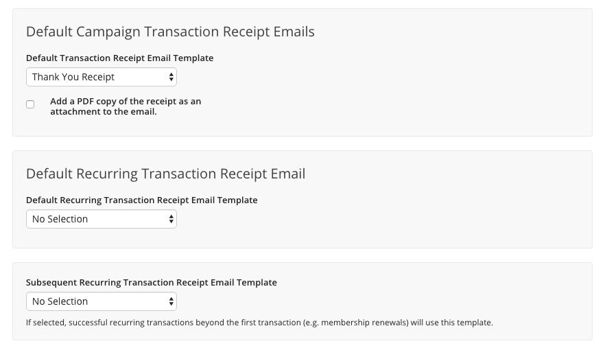 Recurring Transaction Receipts and Processing – Kindful Help Center