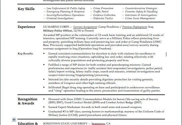 great law enforcement resume template images police resume