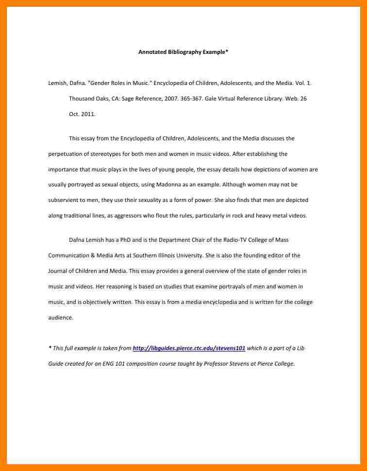 11+ annotated bibliography outline | packaging clerks