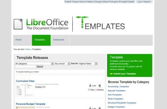 libreoffice presentation templates download free openoffice and ...