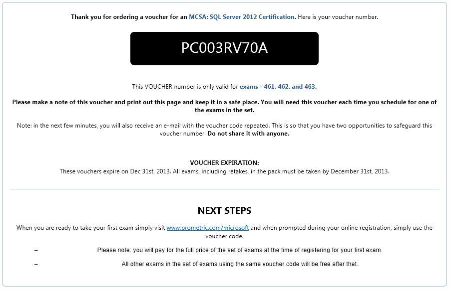 ☀ MS BI # 88 – MCSA : Microsoft Certification # 3-Successful Four ...
