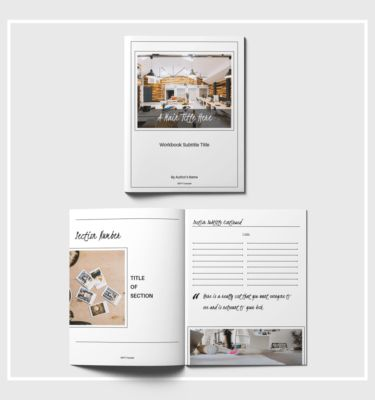 Iconic Workbook Template | BMays Design