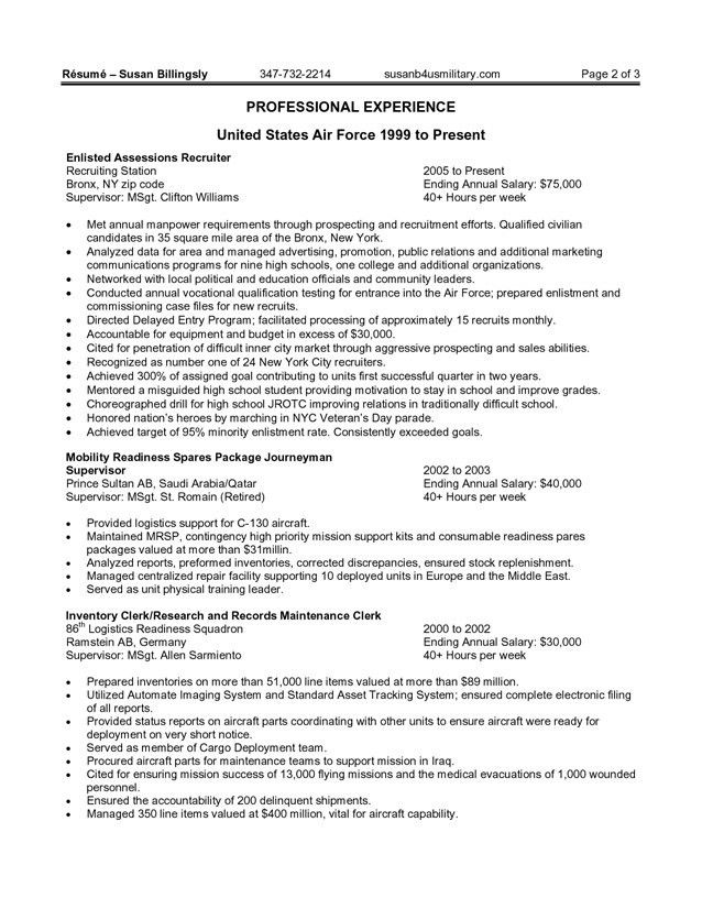 Lovely A Federal Resume Sample For Someone With Education Experience .