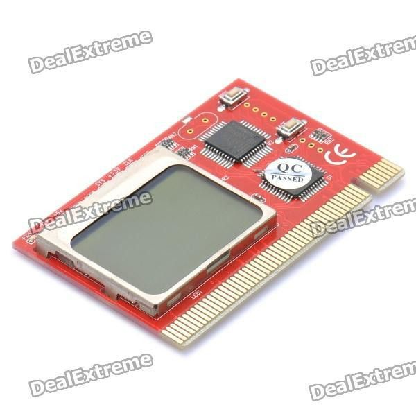 "1.6"" LCD PCI Analyzer Tester Diagnostic Card for Desktop PC ..."