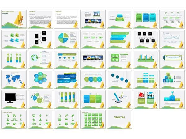 powerpoint charts and graphs templates best powerpoint templates ...