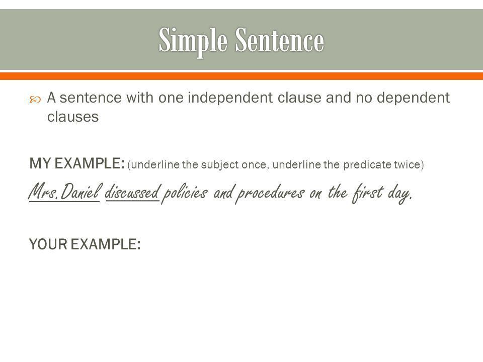 Sentence Structure. - ppt download