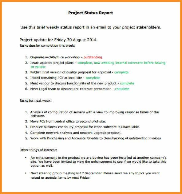 5+ Project Report Sample | Cook Resume